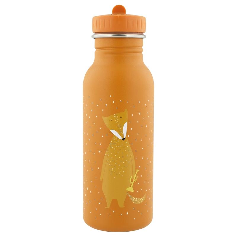 Trinkflasche 'Fuchs' Edelstahl orange 500ml