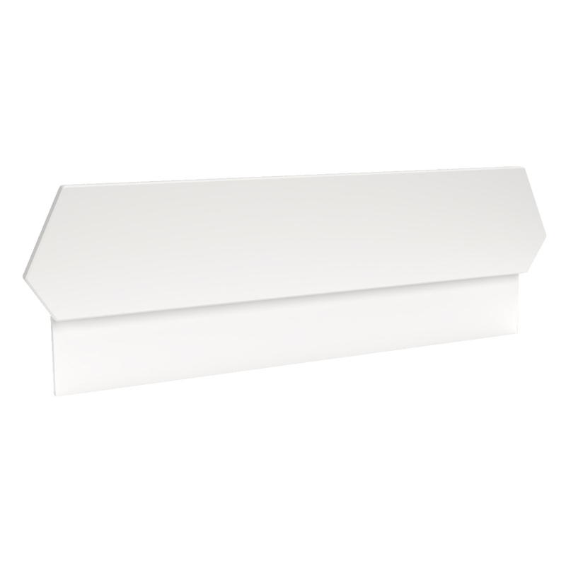 Rausfallschutz für Harlequin Bett weiß