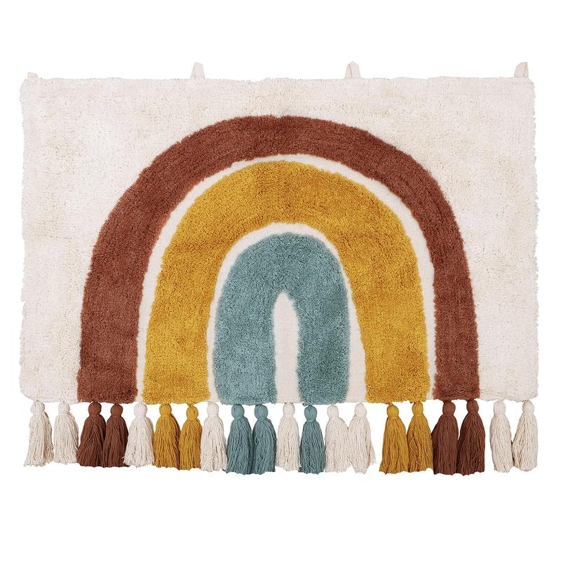 Wandteppich 'Regenbogen' pastell 50x80cm