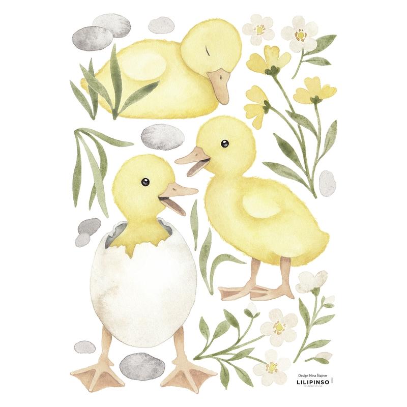 Wandsticker 'Lucky Ducky' Küken im Ei