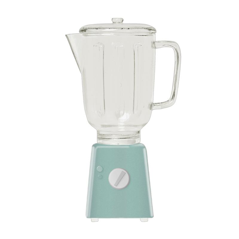 Mixer für Puppenhaus mint (Mini) ca. 9cm