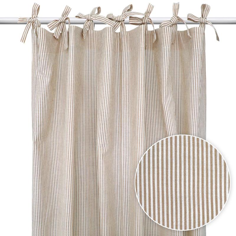 Vorhang 'Streifen' beige H 240cm