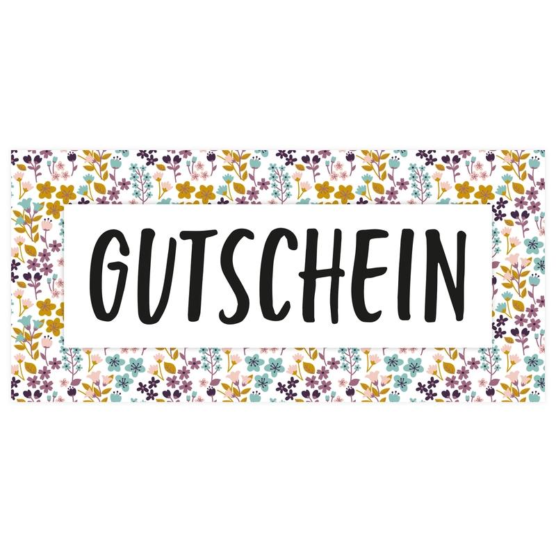 Gutschein 'Blumen' ab 10€ (Versand per Post)