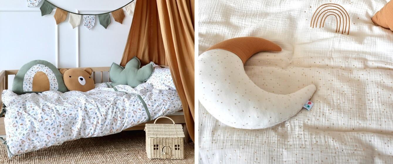 Bettwäsche & Spannbettlaken