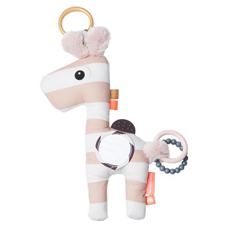 Activity-Spielzeug 'Giraffe Raffi' puderrosa