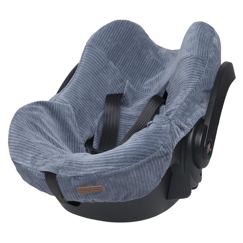 Sitzbezug 'Sense' blau für Babyschale
