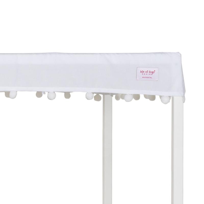 Himmelaufsatz & Pompon-Himmel für Sofabett