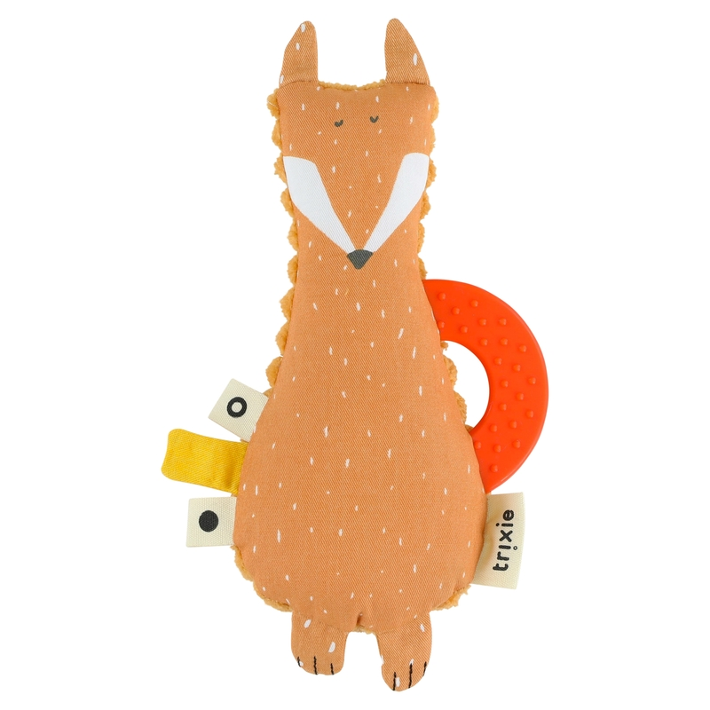 Greifling 'Fuchs' Baumwolle orange 16cm