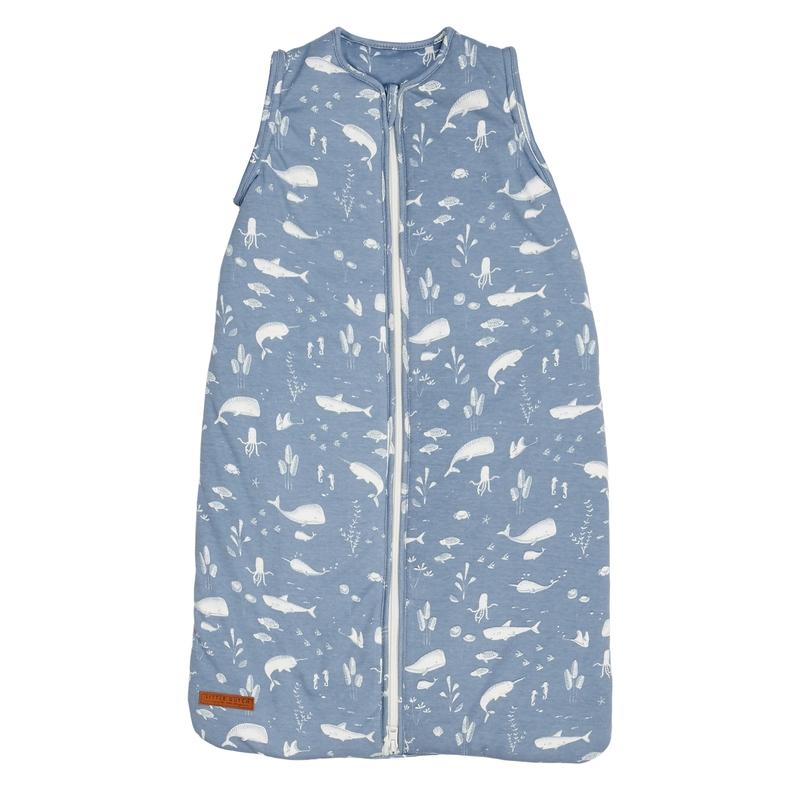 Baby Sommerschlafsack 'Ocean' rauchblau