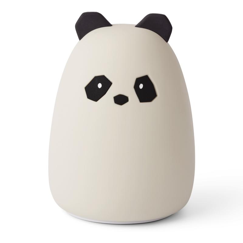 Nachtlicht 'Panda' Silikon creme ca. 13cm
