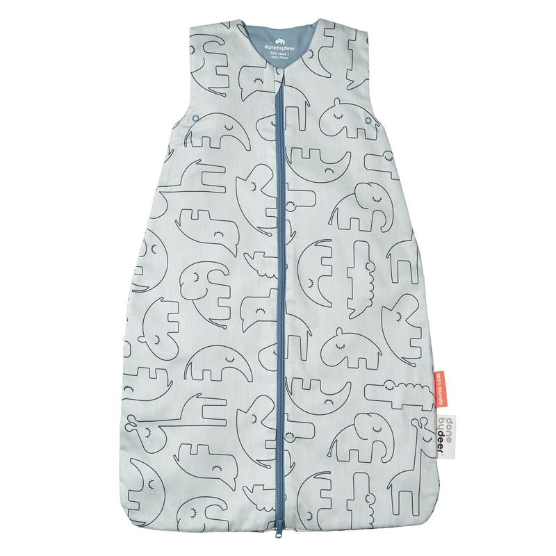 Sommerschlafsack 'Sleepy Friends' blau 70cm