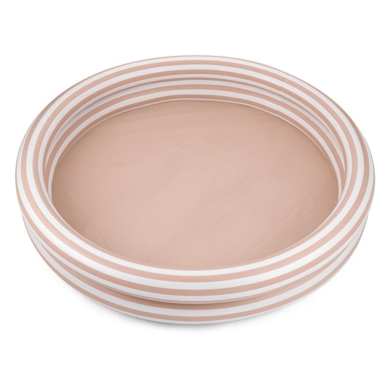 Planschbecken 'Streifen' rosa 150cm