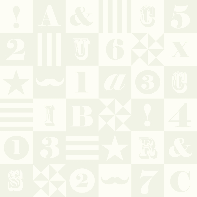 Vliestapete 'ABC-Patchwork' perlmutt