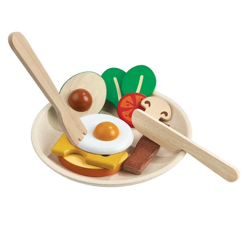 Frühstück aus Naturholz 12-tlg. ab 2 Jahren