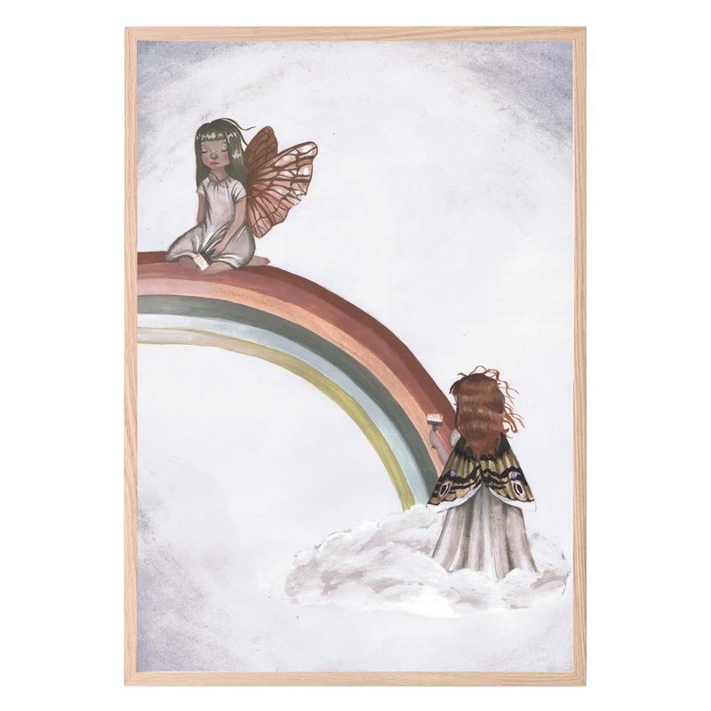 Kinderzimmer Poster 'Regenbogen'