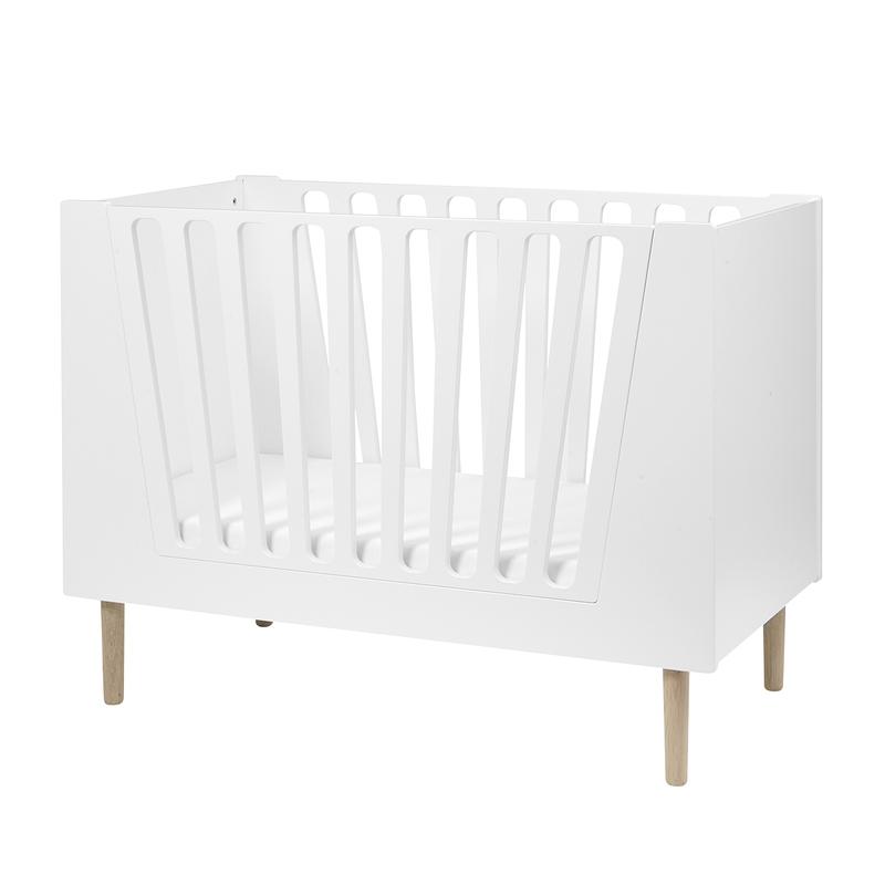 Babybett/Juniorbett weiß 60x120cm
