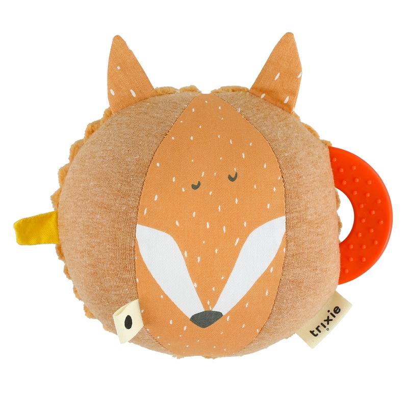 Babyball 'Fuchs' Baumwolle orange 20cm