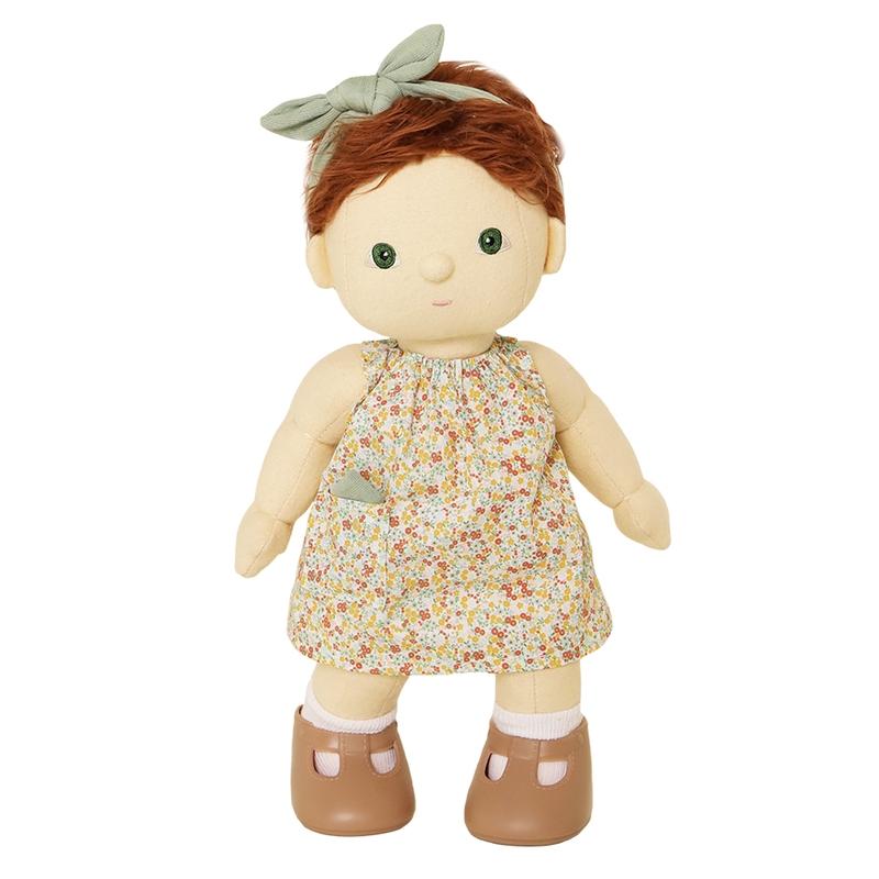Puppenkleid & Haarband 'Una' für Dinkum Dolls