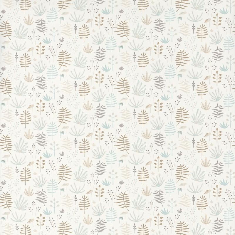 Tapete 'Happy Dreams' Dschungel mint/braun
