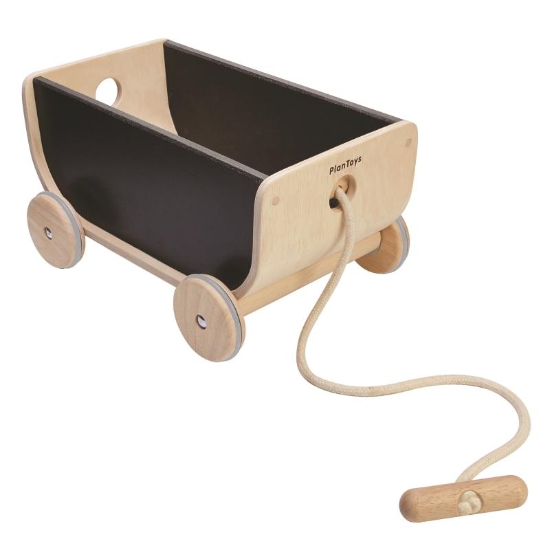 Spielzeugwagen aus Naturholz ab 3 Jahren