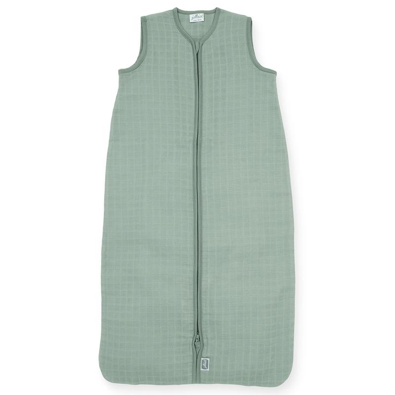 Sommer Schlafsack aus Musselin grün