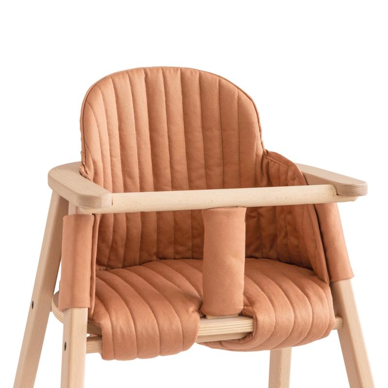 Sitzkissen für Hochstuhl siennabraun