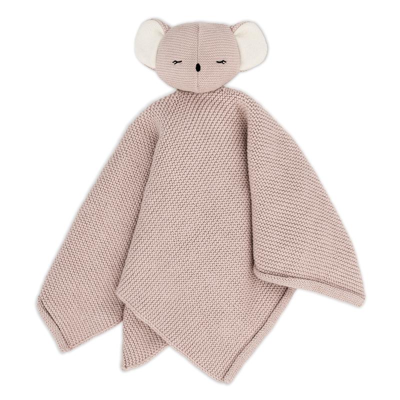 Bio Schnuffeltuch 'Koala Kiki' altrosa