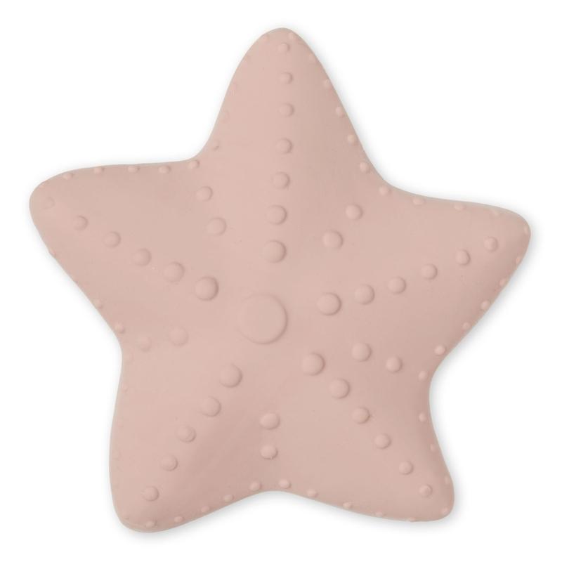 Kauspielzeug 'Seestern' rosa Naturkautschuk