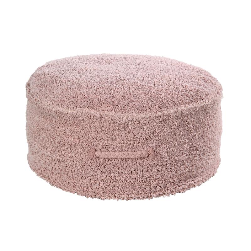 Sitzkissen 'Chill' Baumwolle rosa ca. 50cm