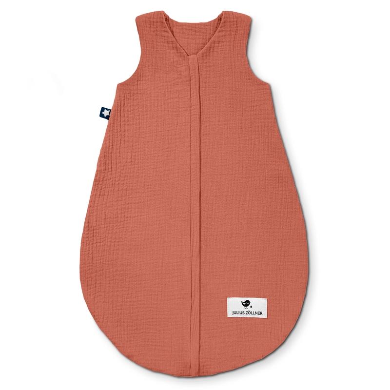 Sommerschlafsack 'Terra' Musselin rost