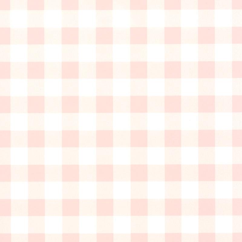 Vliestapete 'Karomuster' puderrosa/weiß