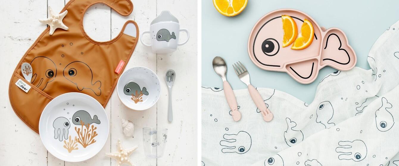 Geschirr, Lätzchen & mehr