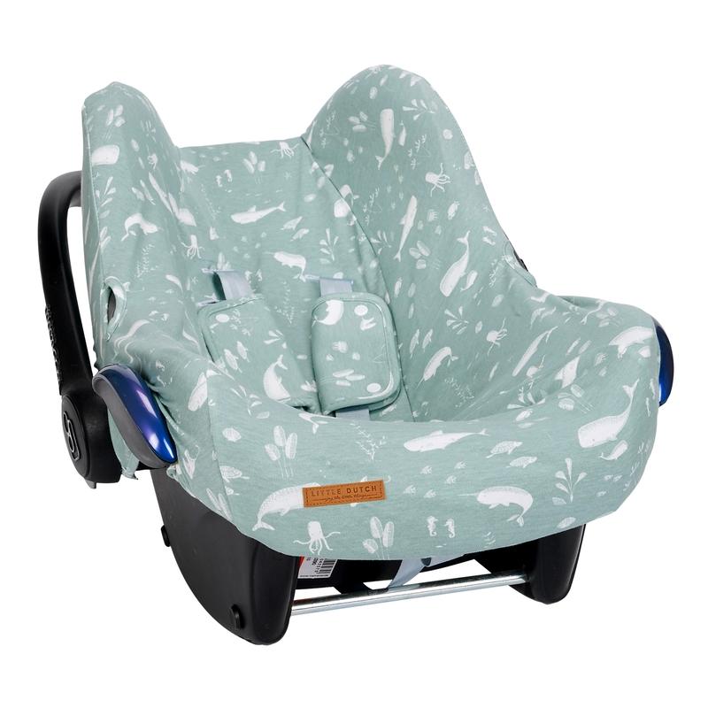 Sitzbezug 'Ocean' mint für Babyschale