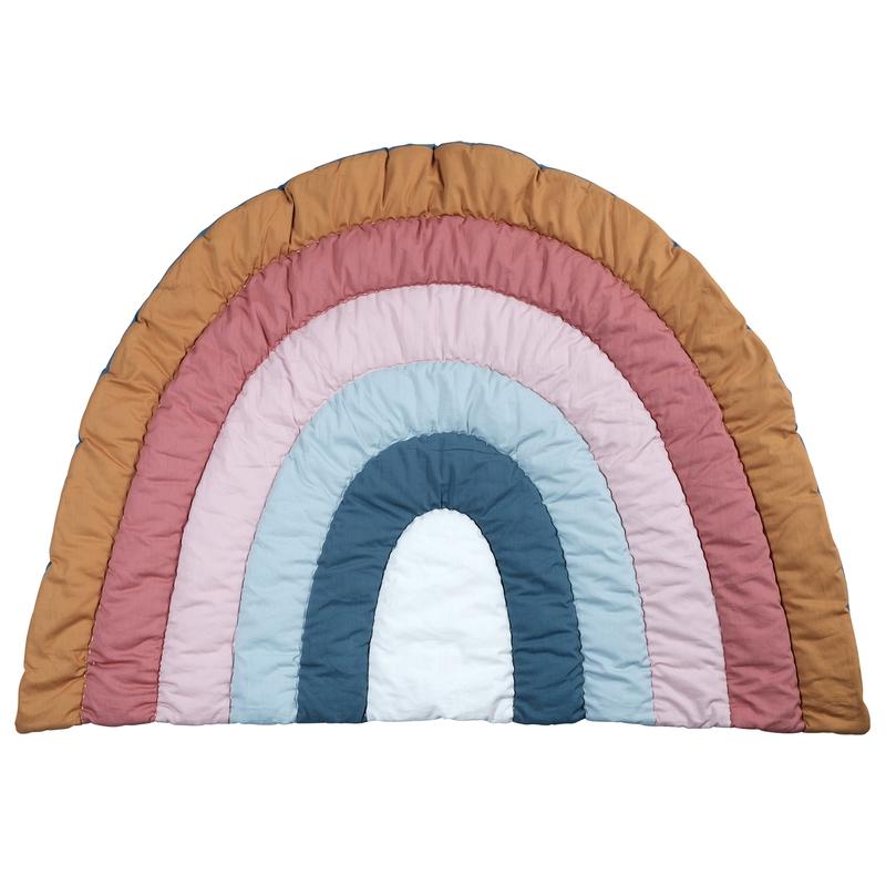 Spielmatte 'Regenbogen' bunt 80x110cm