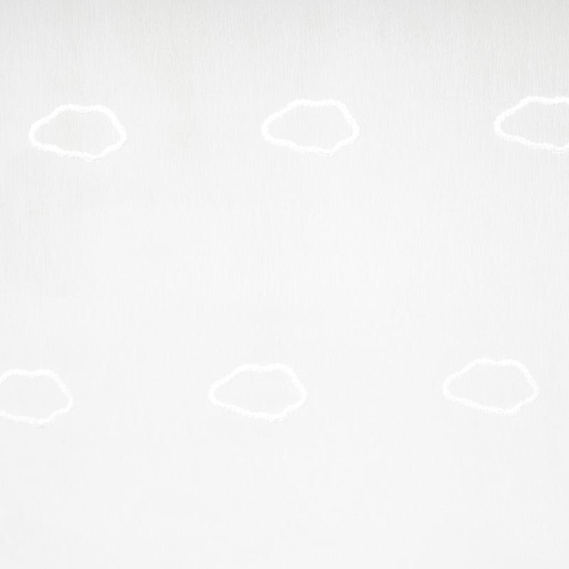 Voile mit Stickerei 'My Little World' Wolken