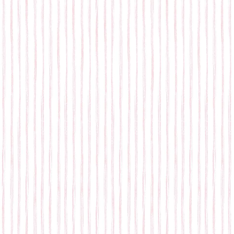 Vliestapete 'Streifen' rosa/weiß