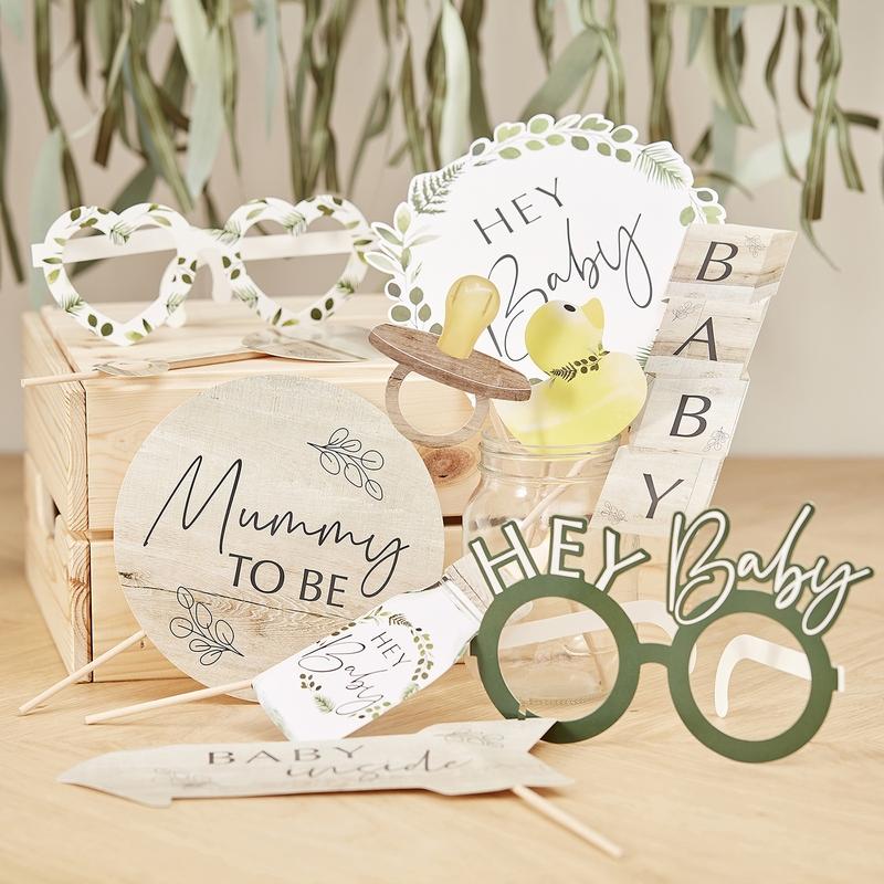 Fotobuch-Requisiten 'Botanical Babyparty'