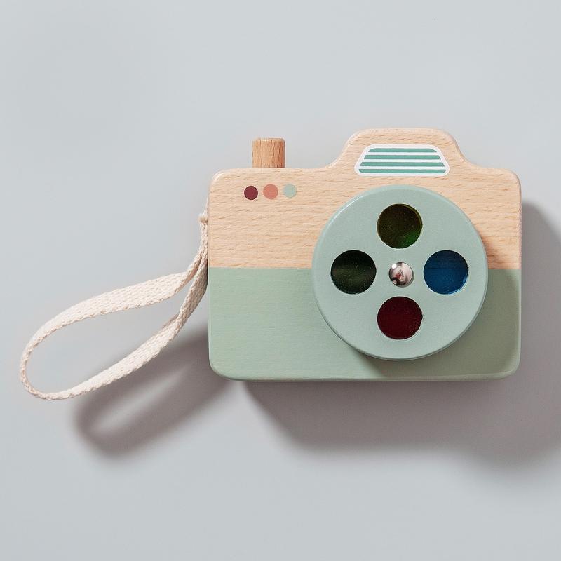 Kamera aus Naturholz mint ab 3 Jahren