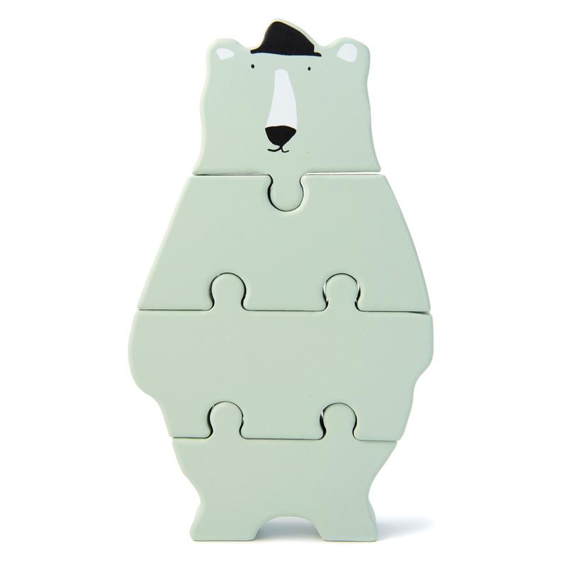 Holzpuzzle 'Eisbär' mint ab 1 Jahr