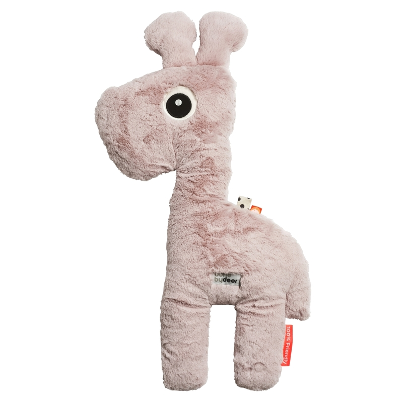 XL Giraffe 'Raffi' Plüsch puderrosa 66cm