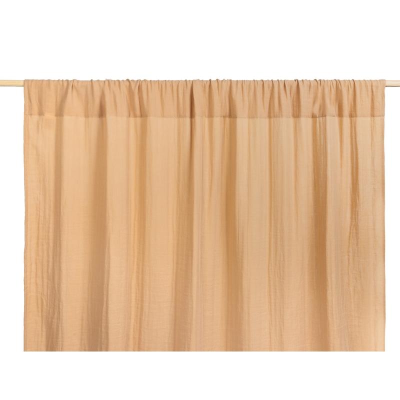 Vorhang Musselin nude ca. 146x280cm