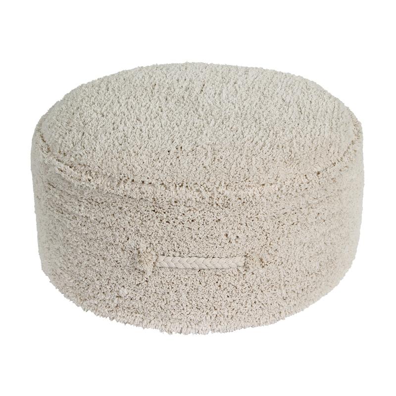 Sitzkissen 'Chill' Baumwolle creme ca. 50cm