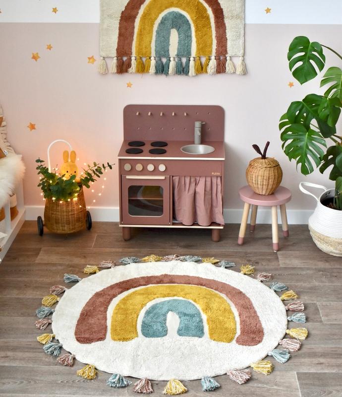 Spielecke 'Regenbogen' mit Kinderküche
