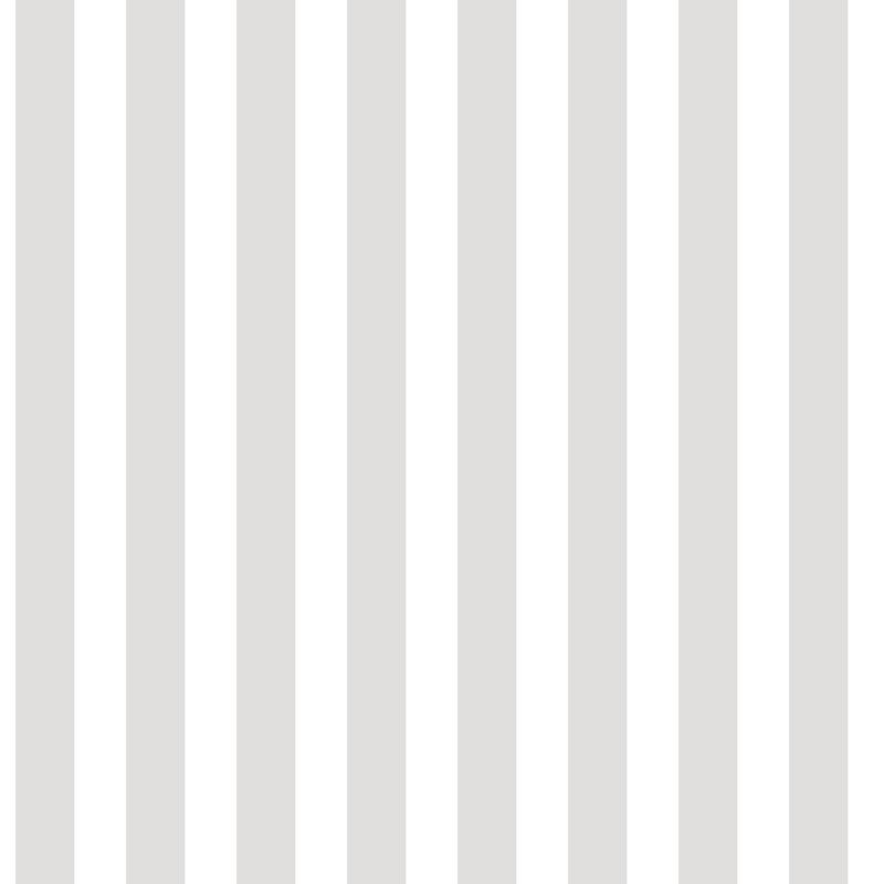 Vliestapete 'Blockstreifen' grau/weiß