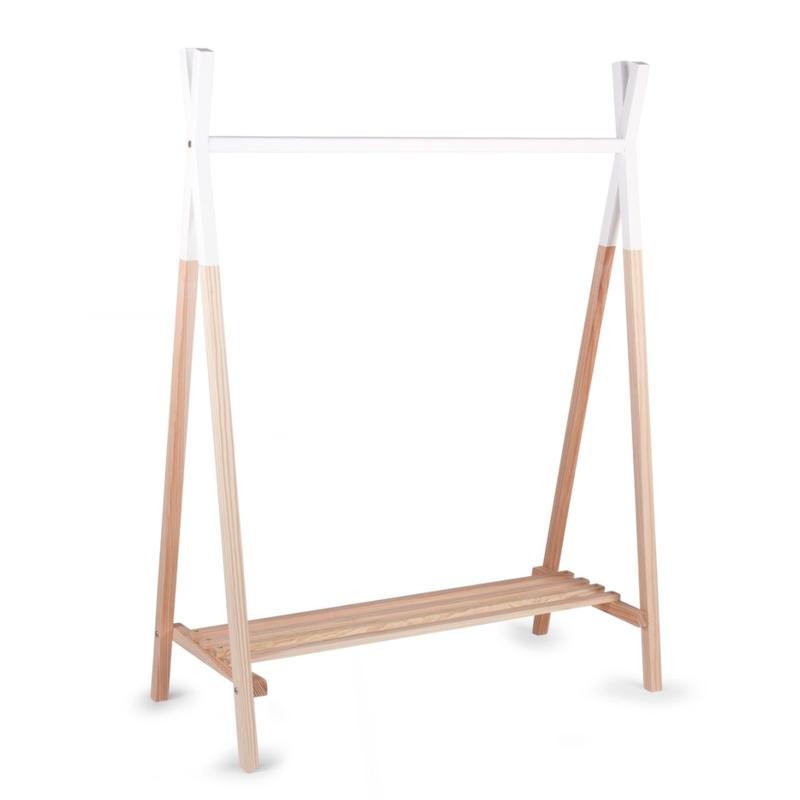 Garderobenständer 'Tipi' Naturholz ca. 106cm