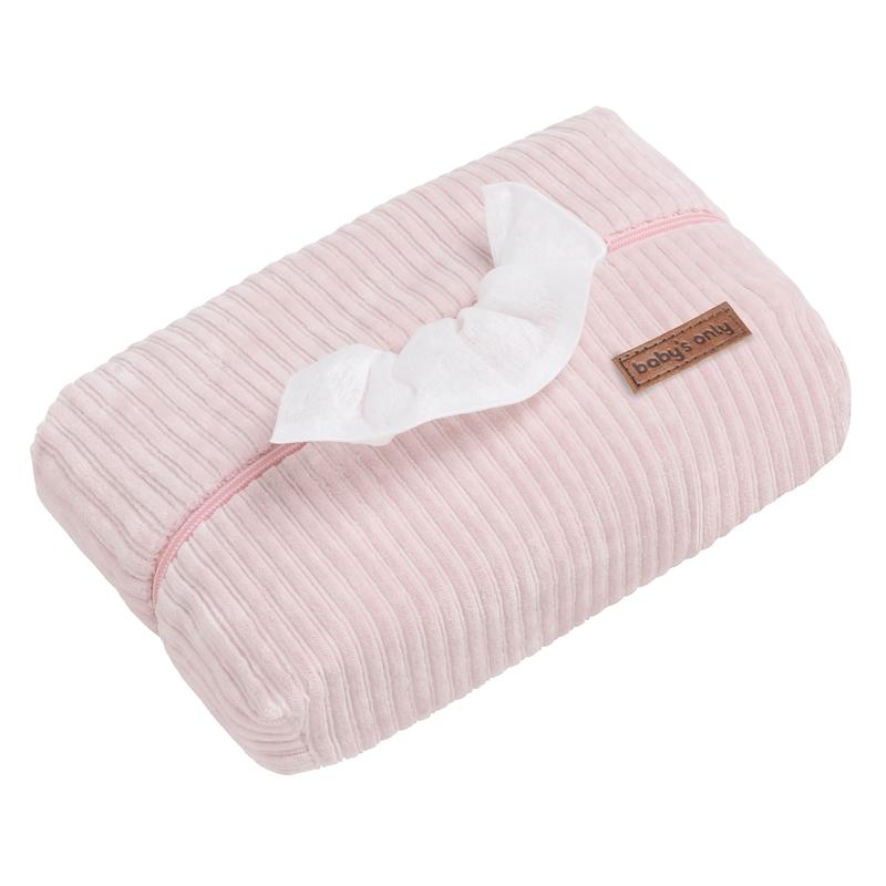 Feuchttücherbezug 'Sense' Samt rosa