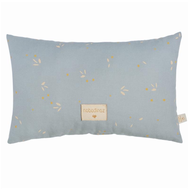 Bio Kissen 'Willow' soft blue ca. 22x35cm