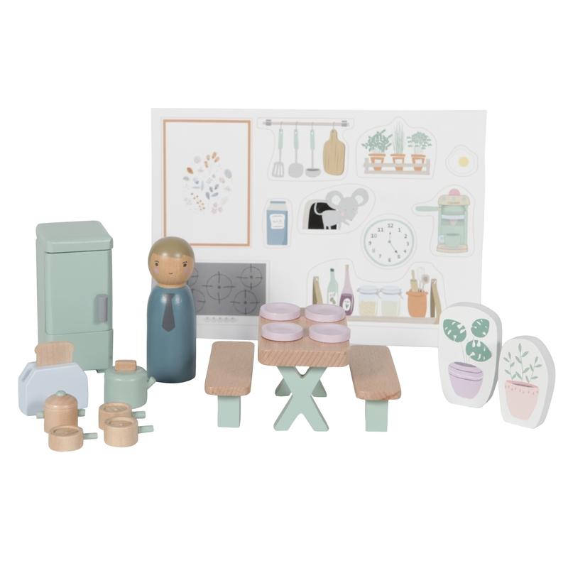 Puppenhausmöbel 'Küche' ab 3 Jahren