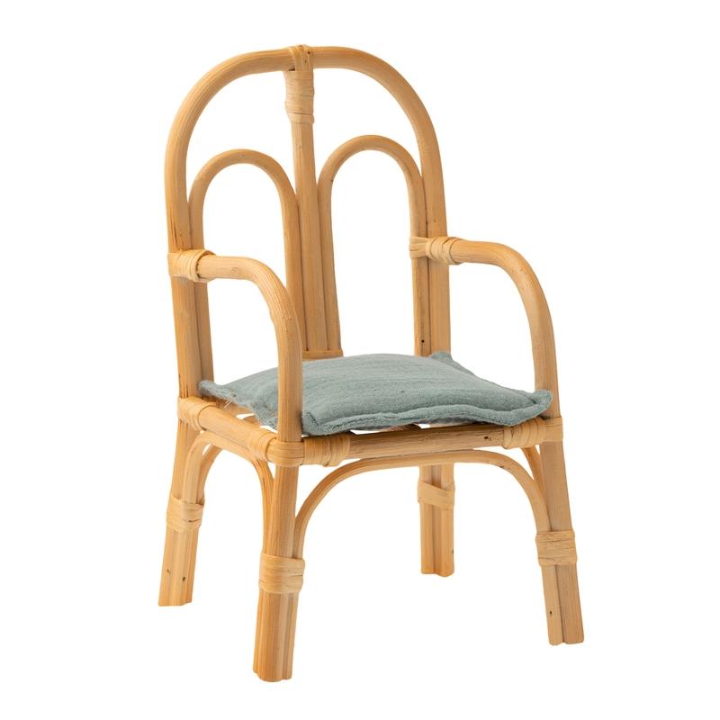Puppenhaus-Stuhl Rattan 24cm (Medium)