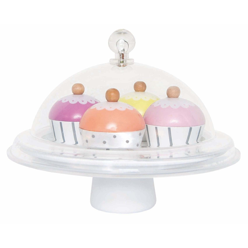 Cupcakes mit Tortenplatte ab 3 Jahren